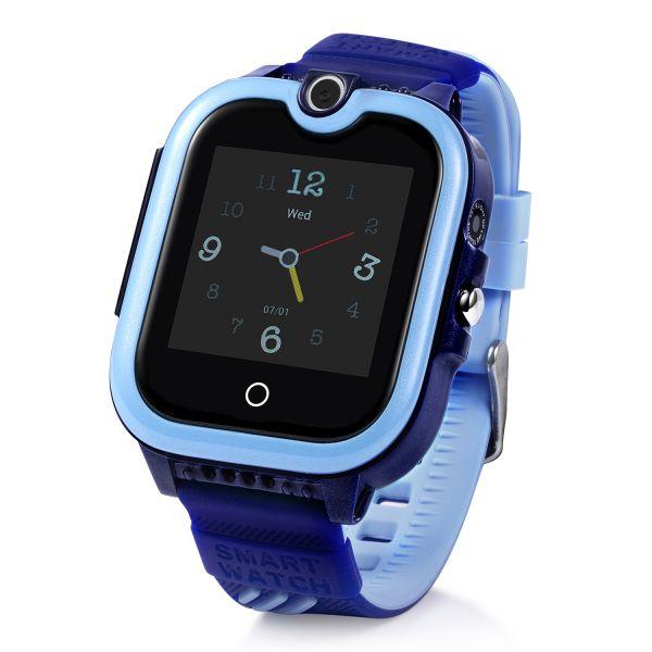 KT13-B Gyermek okosóra GPS nyomkövetővel KÉK