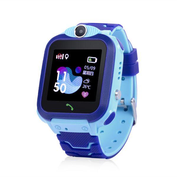 GW600S-B Gyermek okosóra GPS nyomkövetővel Kék