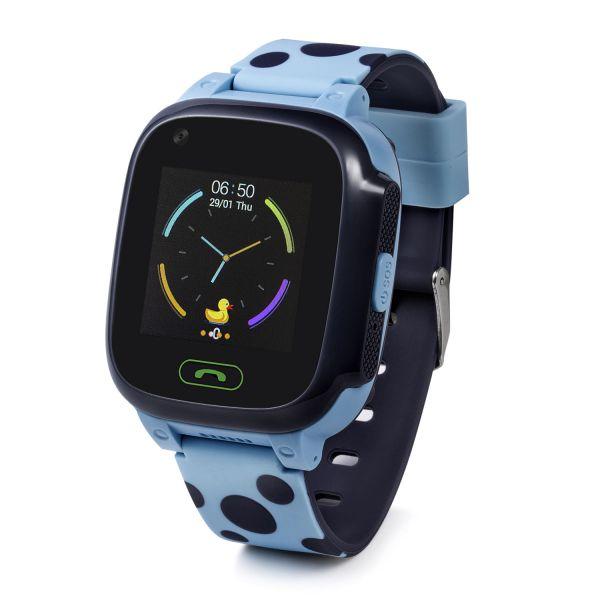 GW800S-B Gyermek okosóra GPS nyomkövetővel KÉK